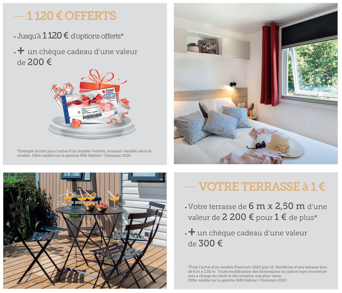 offre mobil home irm