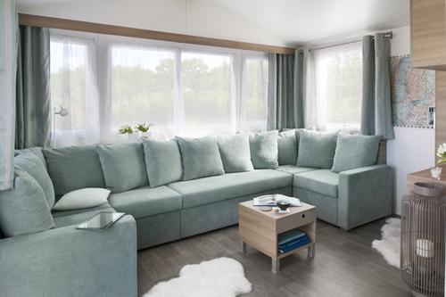 choisir son mobil home chambre salon agencement. Black Bedroom Furniture Sets. Home Design Ideas