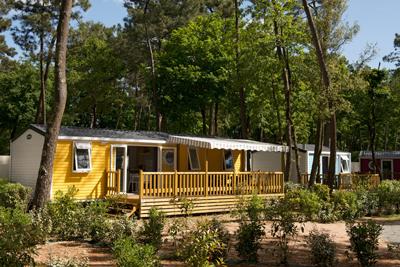 Amnager un mobil home location personnes camping argels - Mobil home dans son jardin ...
